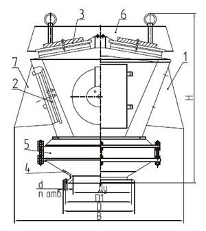 Общий вид клапана КДС-3000